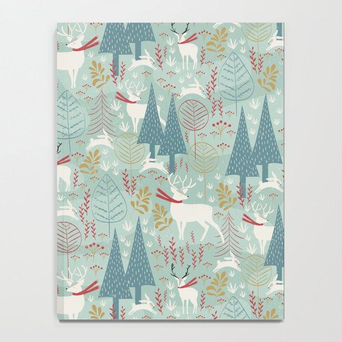 Woodland Christmas Notebook