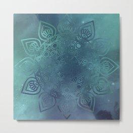 Universe Mandala Metal Print