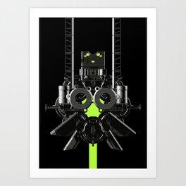 Mechanical 20 Art Print