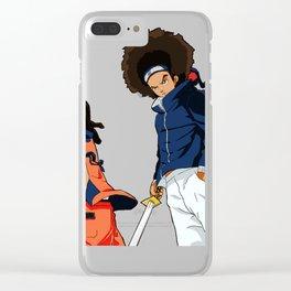 Huey _ Riley The Ninja Way Clear iPhone Case