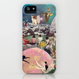 Paradise Collage Inception iPhone Case