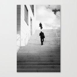 Climbing Higher Canvas Print