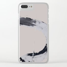 UNTITLED#111 Clear iPhone Case