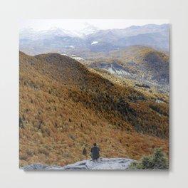 Pinnacle Peak in Autumn Metal Print