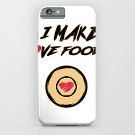 Heavy Metal Pan Cook Chef Gift iPhone Case