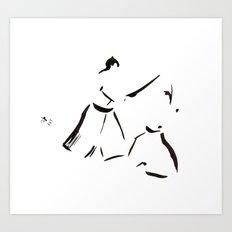 Aikido Series - 1 Art Print