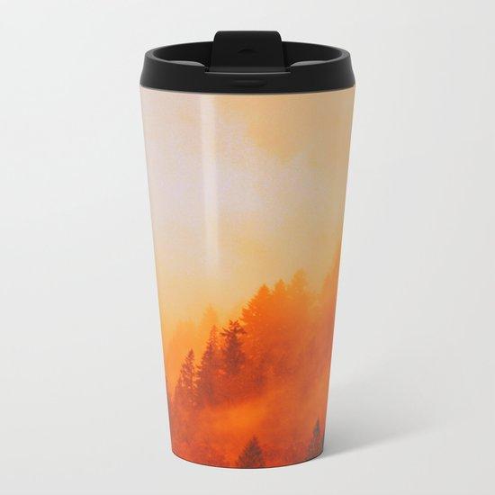 ON FIRE Metal Travel Mug