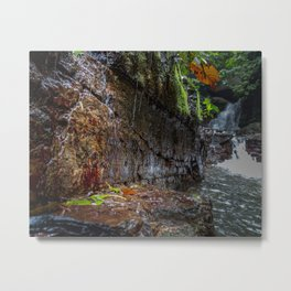 Catarata Ananda (Ananda Waterfall) Metal Print