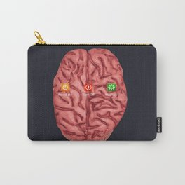 turn off your brain Carry-All Pouch