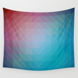 Blend Pixel Color 6 Wall Tapestry