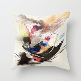Day 64: Second, third, and fourth guessing and knowing that nothing comes from guessing. Throw Pillow