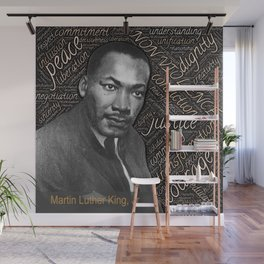 martin luther king Wall Mural