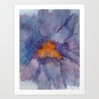 Art Print featuring Single Flower by Jackie Hickey