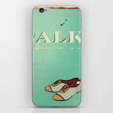 Walk iPhone & iPod Skin
