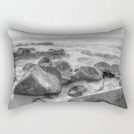 Shimmering Waves Rectangular Pillow