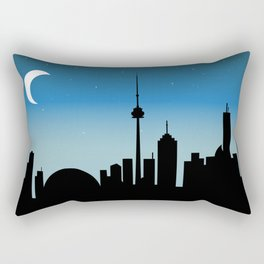 Toronto Skyline - Night Rectangular Pillow