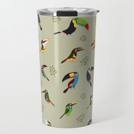 Toucans by Lili Chin Travel Mug