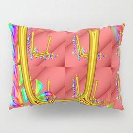 U - pattern 1 Pillow Sham