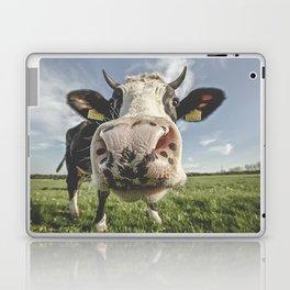 Inquisitive Cow Laptop & iPad Skin