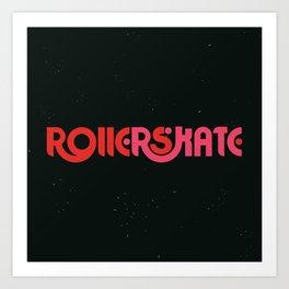 Rollerskate Art Print