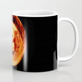 Fire Egg with Man Inside Coffee Mug