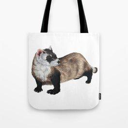 Black-Footed Ferret Tote Bag