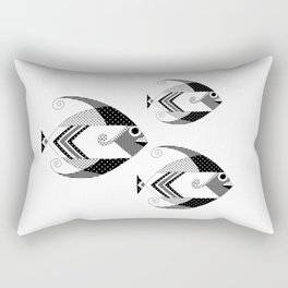 Decorative Fish Rectangular Pillow