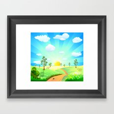 Fabulous Sunshine Framed Art Print