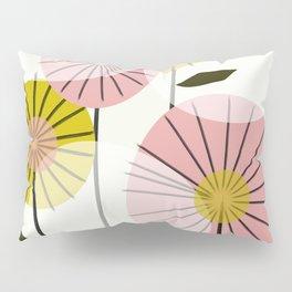 Abstract Summer Flowers Pillow Sham