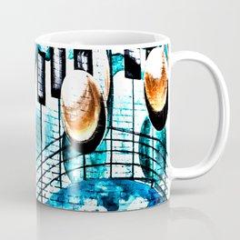 Deep Ellum Music Note Mural - Surreal Coffee Mug
