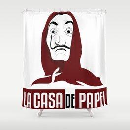 LA CASA DE PAPEL Tee-shirt Shower Curtain