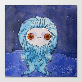 Moonkhin 3 (blue tranquil) Canvas Print