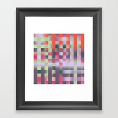 Abstract pattern 45 Framed Art Print