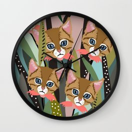 Lilly Lover Wall Clock