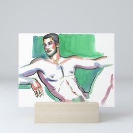JOSEPH, Nude Male by Frank-Joseph Mini Art Print