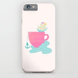 Cup of Sea iPhone Case