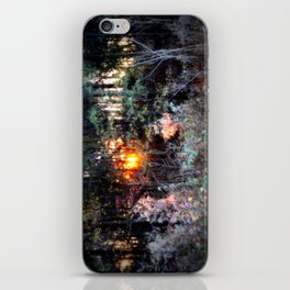 Sunset Forest : Where The Fairies Dwell iPhone Skin