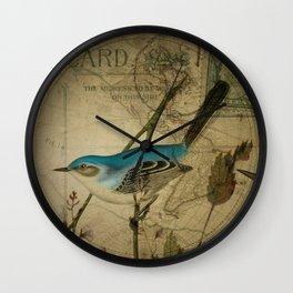 EPHEMERA  Birds Pair 1  Wall Clock