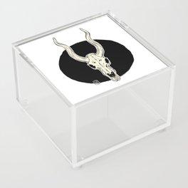 Animal Skull Acrylic Box