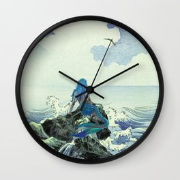Beauty Mermaid Wall Clock