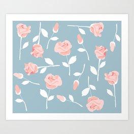 June roses Art Print