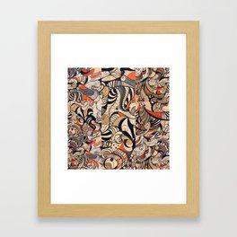 The Pattern 1 Framed Art Print