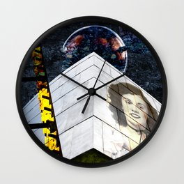The Architecture of Judith Wall Clock