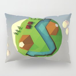 My little planet Pillow Sham