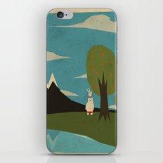 Yeti hearts bunny iPhone & iPod Skin