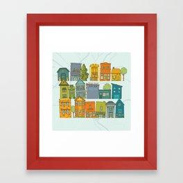 Columbia, SC Framed Art Print