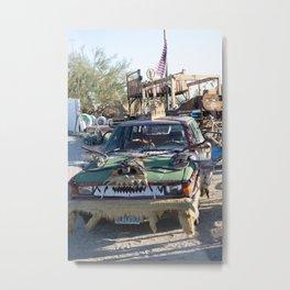 monster car Metal Print