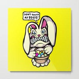 Beaster Bunny Metal Print