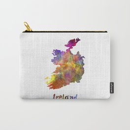 Ireland in watercolor Carry-All Pouch