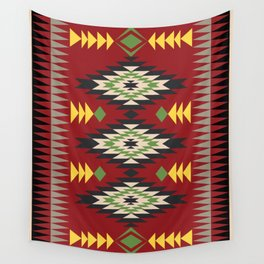 Navajo Pattern 1 Wall Tapestry